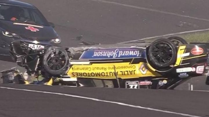 ¡Accidente y milagro! Mirá lo que pasó en el Top Race